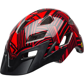 Bell Sidetrack Y MIPS Bike Helmet Children red/black